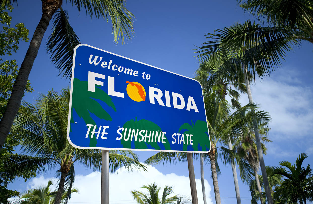 Florida is Awarded the Best State to Retire